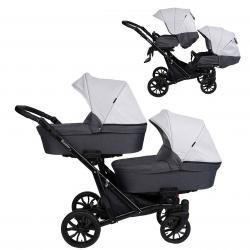Booster Light 2in1 Pram For Twins