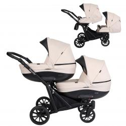 Booster 2in1 Pram For Twins