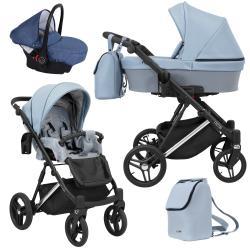 Lazzio Premium 3in1 Baby Pram